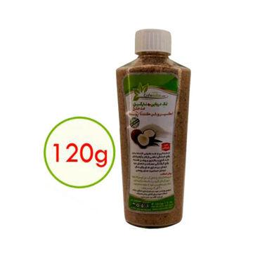 تصویر نمک حمام نارگیل | اسپرولینا | 120 گرم